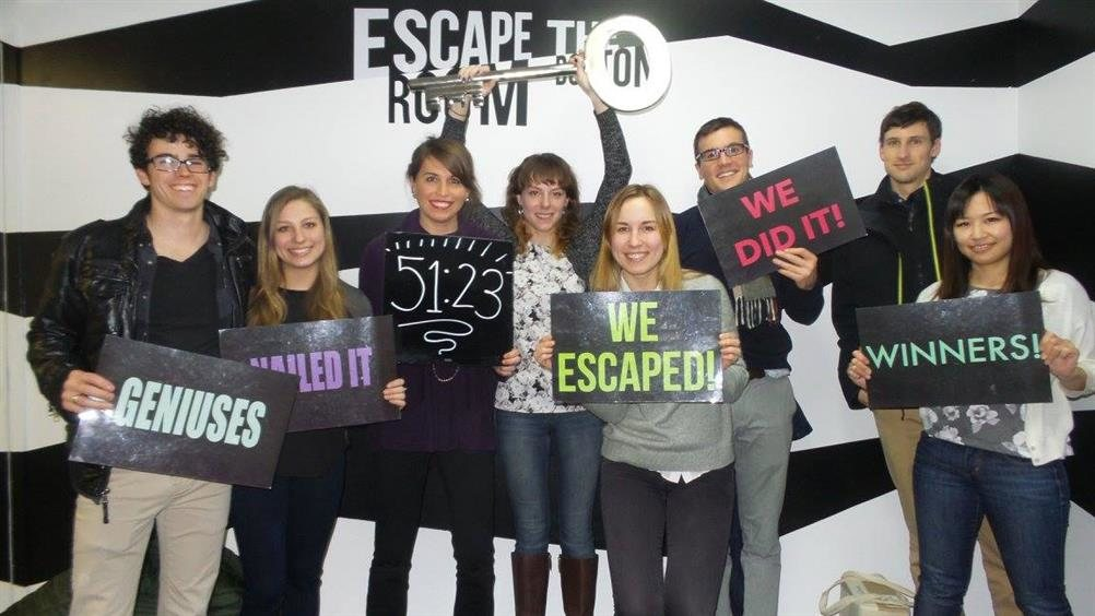 ... escape room chamber boston ""