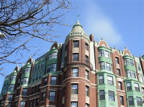 This Building Dates Back To 1901 And Was Purchased By Boston University In 1947 Use As A Dorm It Also Then Used Emerson College Through